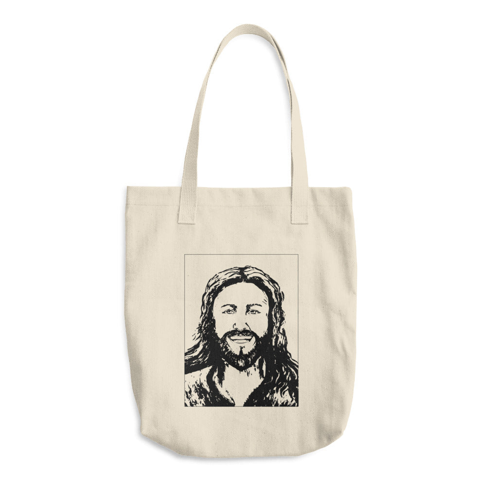 Happy Jesus Tote Bag
