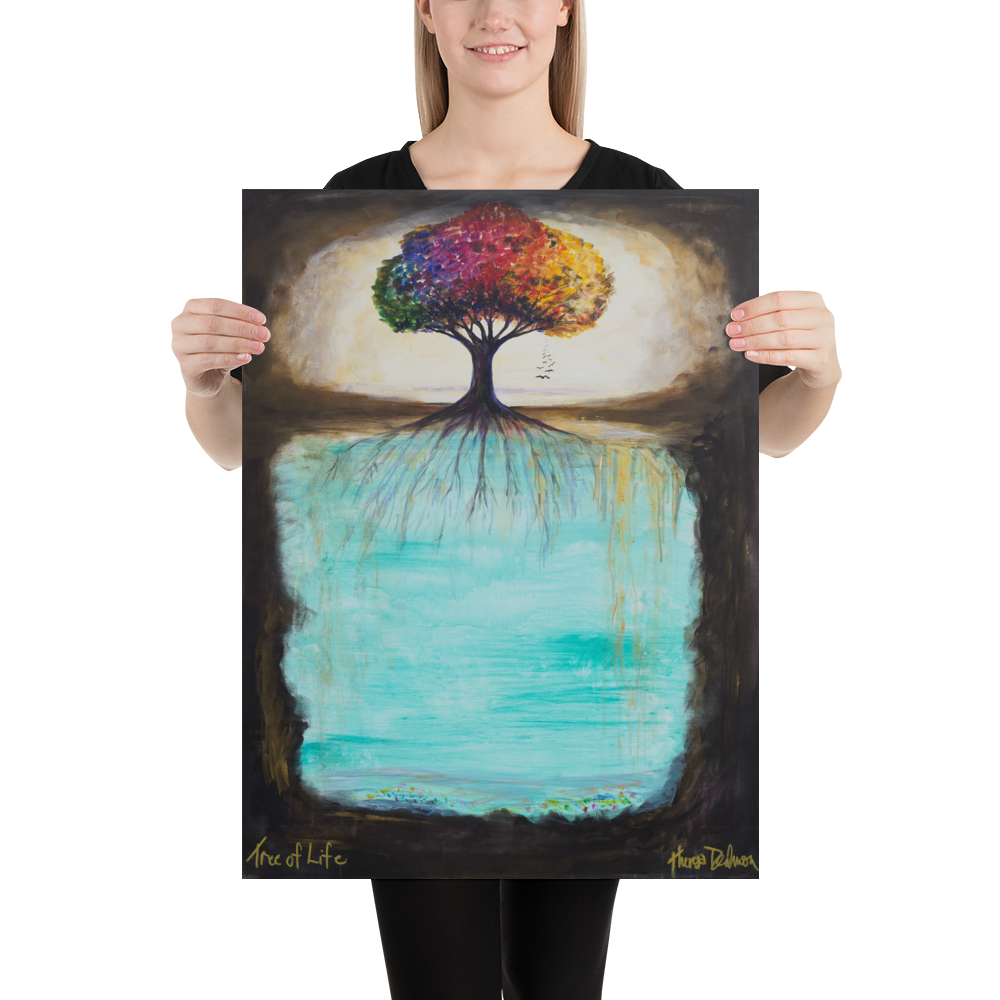 """Tree of Life"" - Prophetic Art Print"