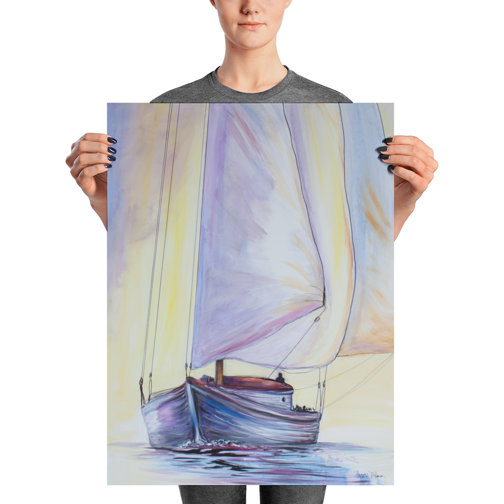 """Sailing"" - Prophetic Art Print"