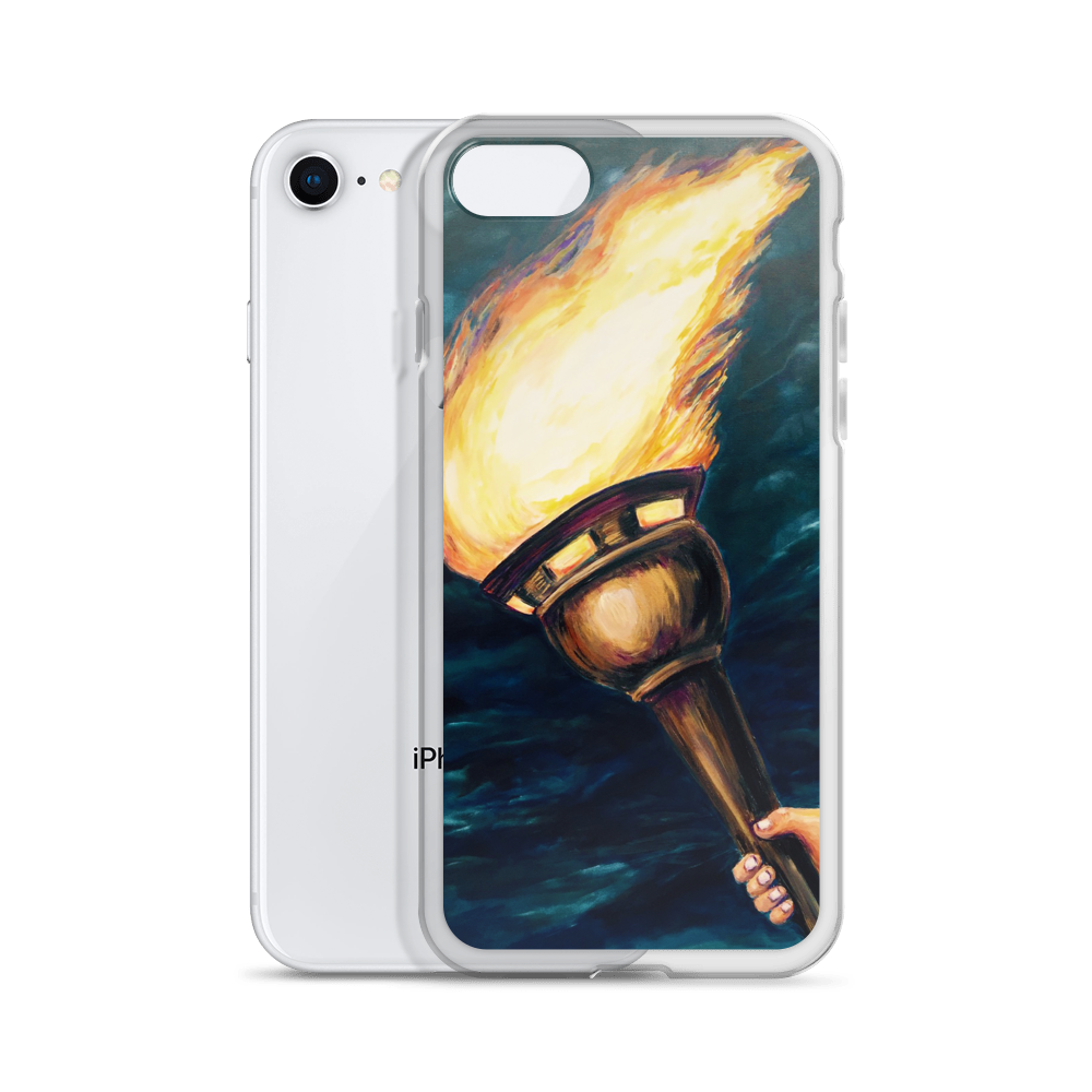 """Torch of Revival"" iPhone Case"