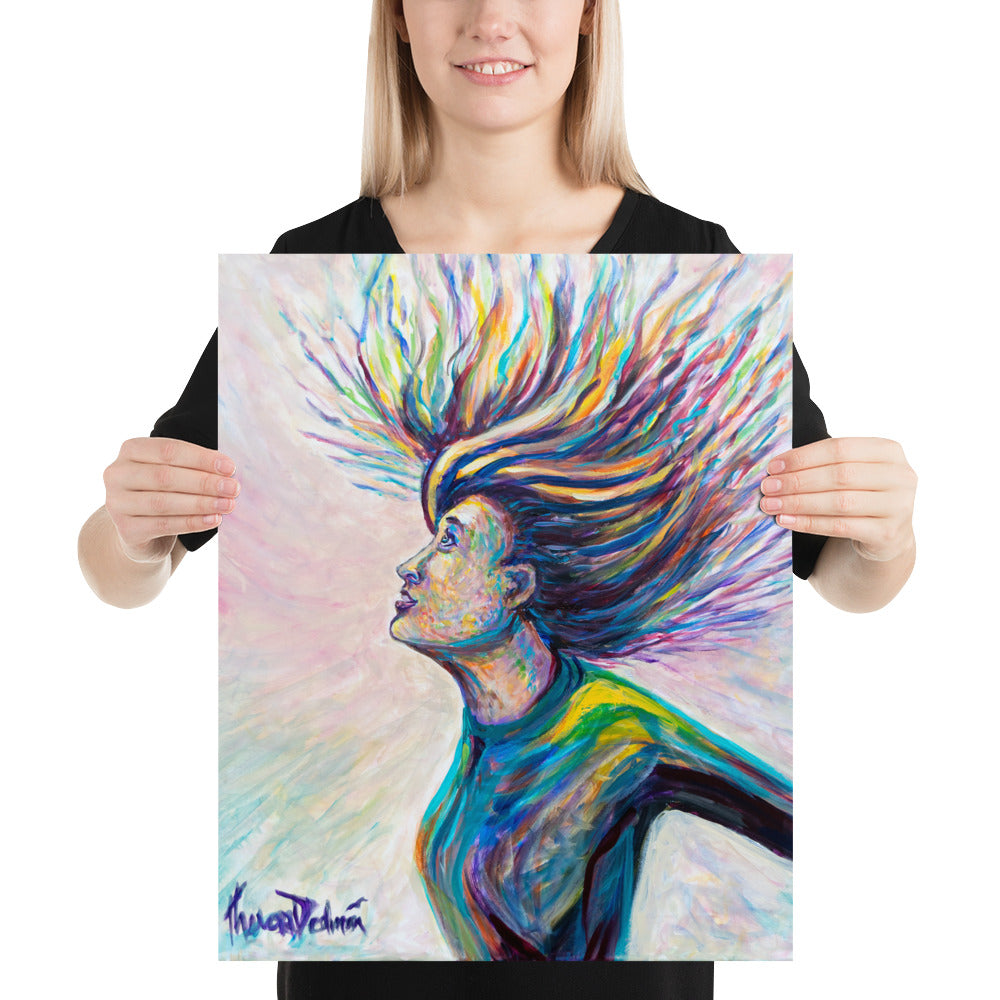 """Spirit Wind Blow"" - Prophetic Art Print"