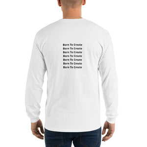 Born to Create Long-sleeve T-shirt Men