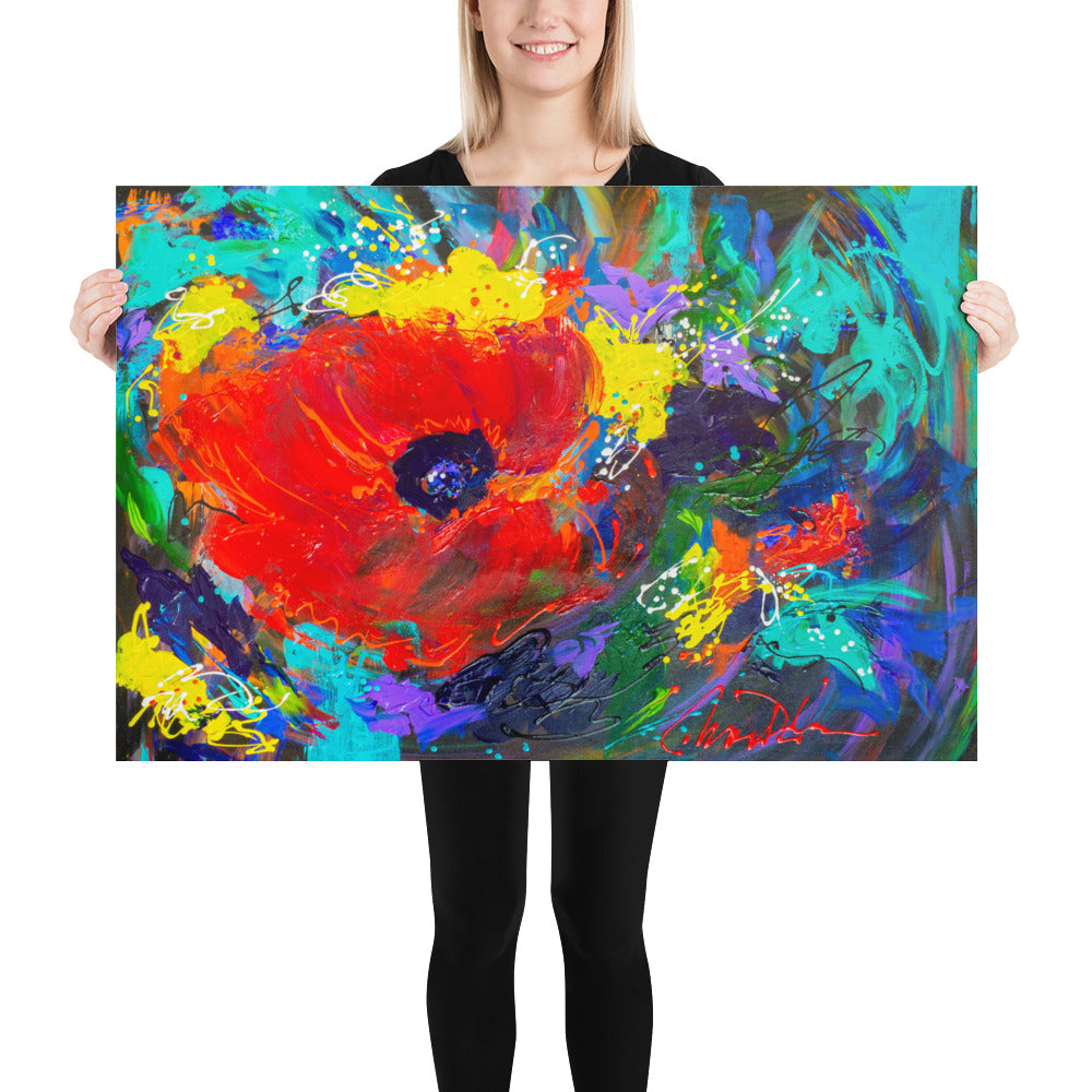 """Poppy Talk"" - Prophetic Art Print"