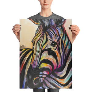 """A Horse of a Different Color"" - Prophetic Art Print"
