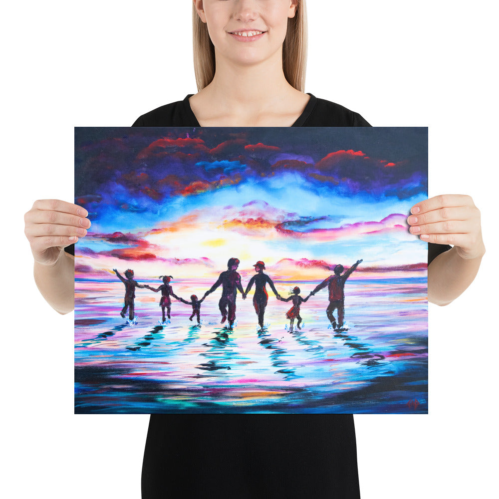 """Walking on Water"" - Prophetic Art Print"