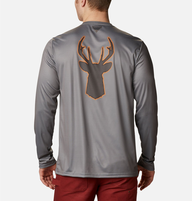PHG Terminal Shot Graphic Long Sleeve Shirt - Deer