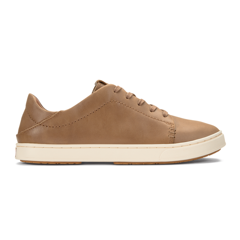 Pehuea Lī 'Ili Leather Sneakers - Tan