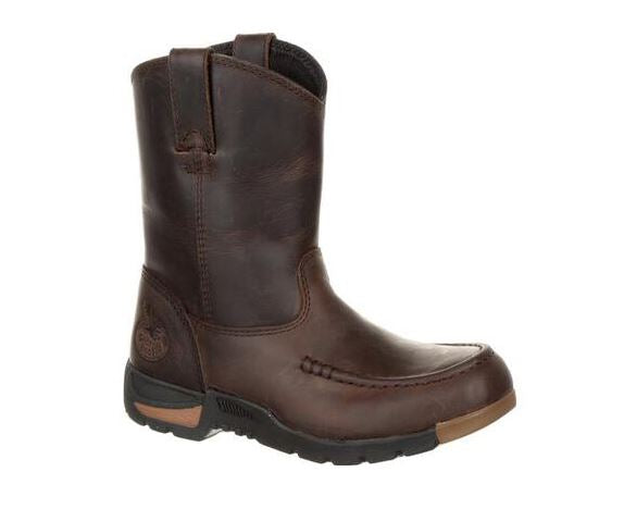 Georgia Boot Kid's Athens Pull on Boots