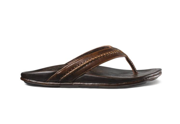 Mea Ola Men's Leather Beach Sandals