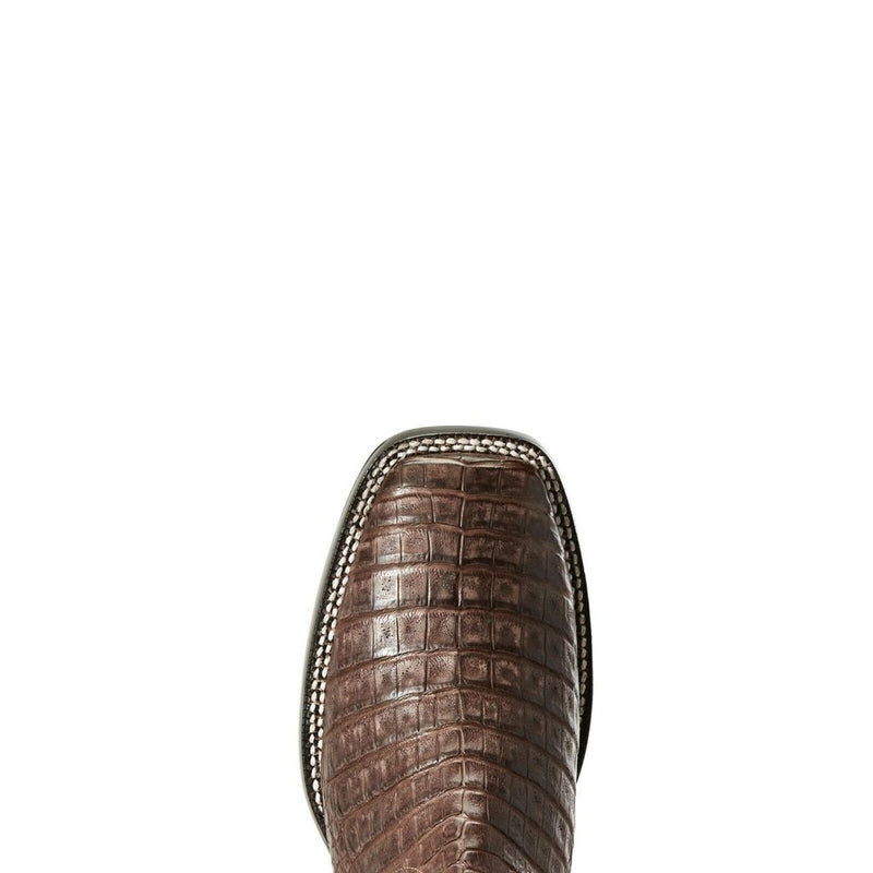 Ariat Men's Pro Chocolate Giant Caiman Boots