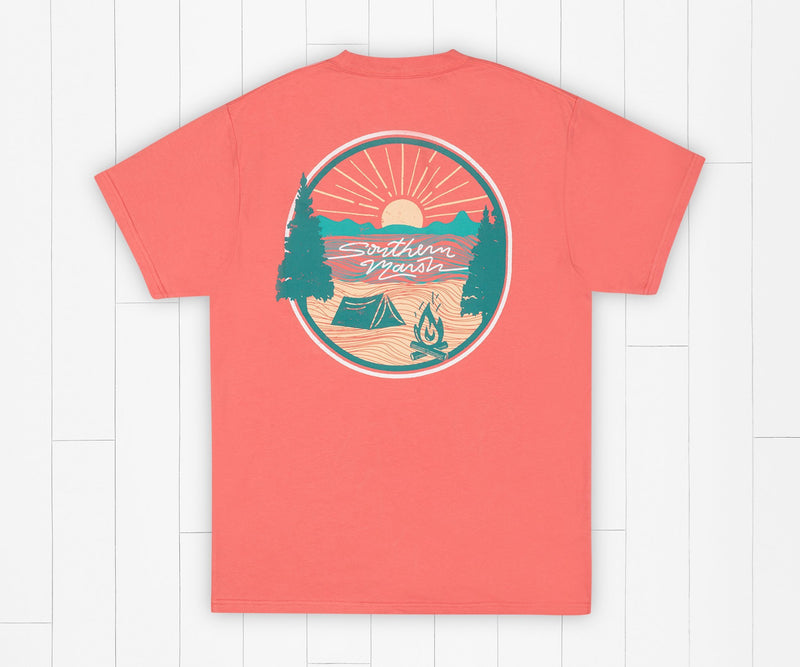 Summer Camp Sunsets Tee