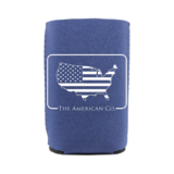American Patch Koozie Navy