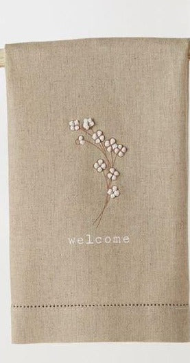 Cotton French Knot Towel