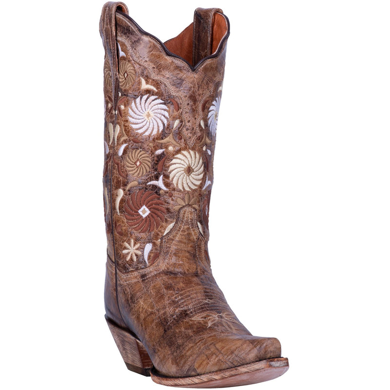 Pinwheel Leather Boot