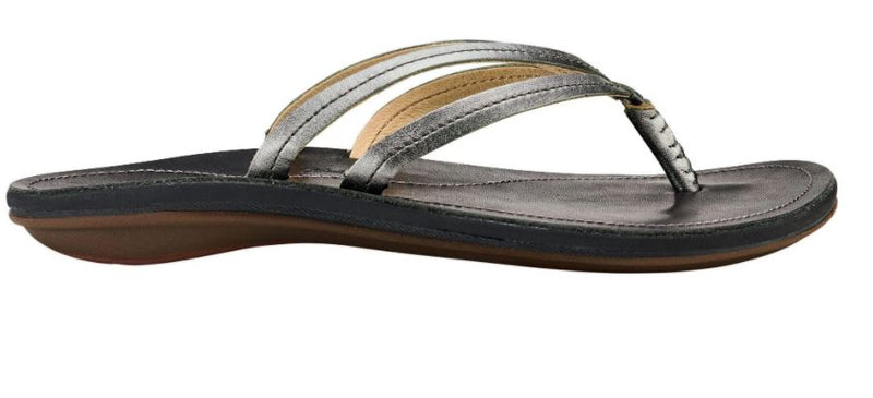 U'i Leather Beach Sandals
