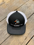 Wood Duck Mesh Back Trucker Hat Black/White