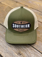 Green Southern Fowler Patch Hat