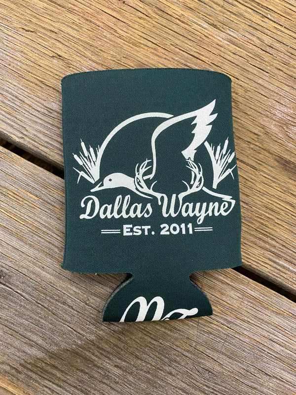 12 oz Can Koozie - Green