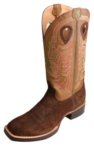 Twisted X Men's Ruffstock Cowboy Boot