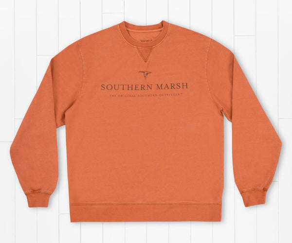 Seawash Sweatshirt In flight - Burnt Orange