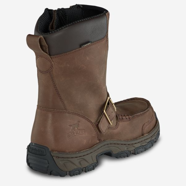 "Irish Setter Havoc Men's 10"" Waterproof Leather Side-Zip Boot"