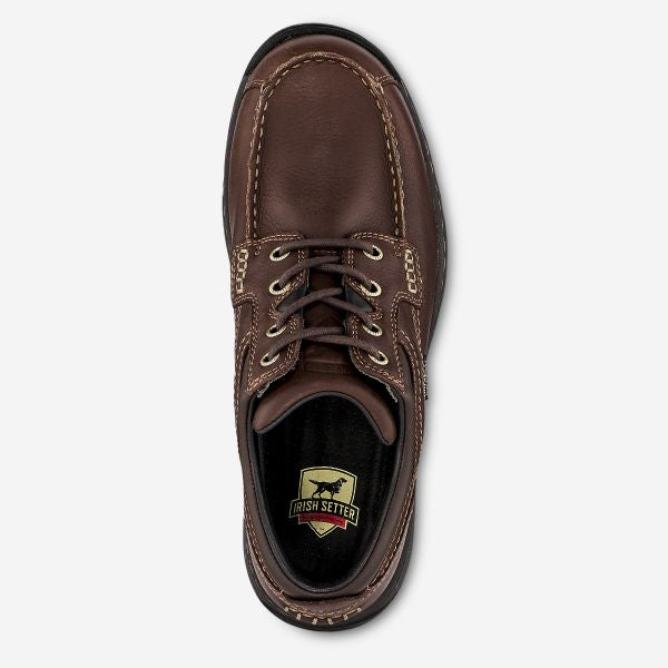 Irish Setter Soft Paw Men's Waterproof Leather Chukka