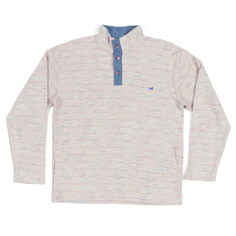 Pawleys Rope Pullover Stripes - White