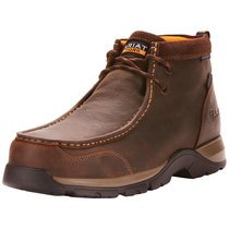Ariat Men's Edge LTE Moc Brown H2O Composite Toe Work Boots