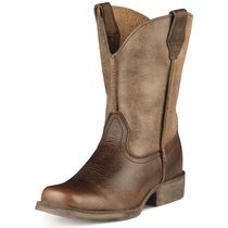 Ariat Children's Earth Brown Rambler Western Boots