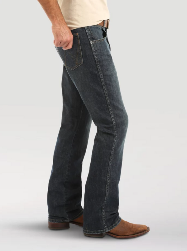 Wrangler Retro Relaxed Fit Boot Cut Jean - Falls City