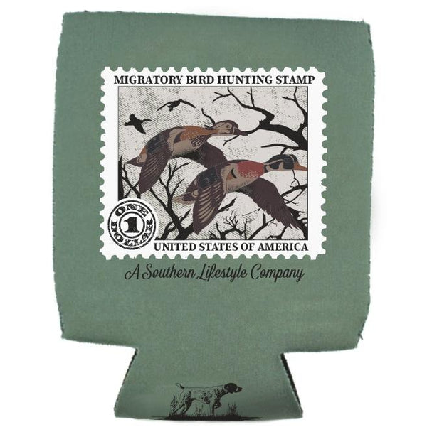 Duck Stamp Koozie