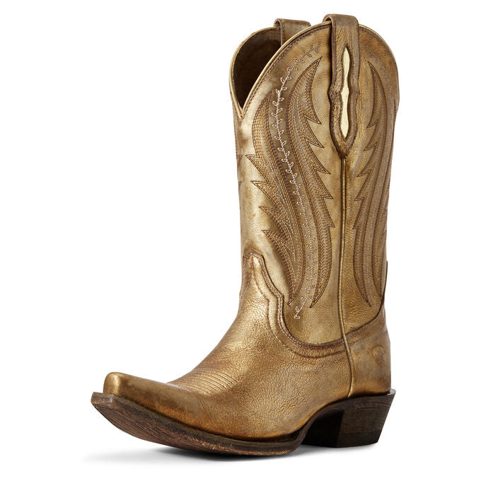 Tailgate Western Boot - Distressed Gold