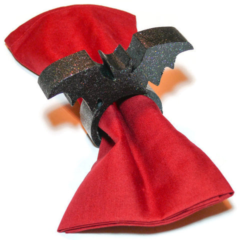 Black Bat Napkin Ring