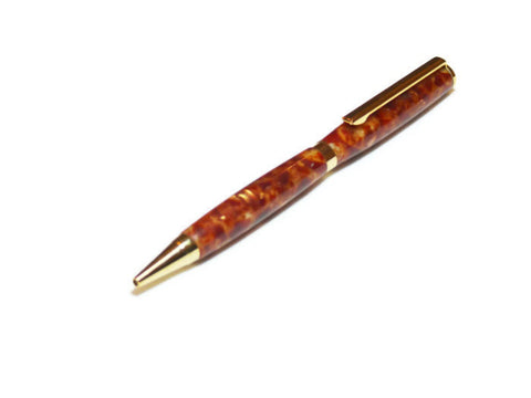 Copper Black Ink Ball Point Pen