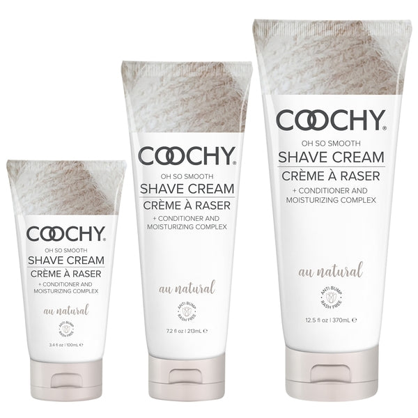 COOCHY Oh So Smooth Shave Cream: Au Natural Fragrance Free - Love on This