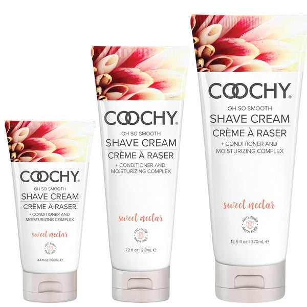COOCHY Oh So Smooth Shave Cream- Sweet Nectar - Love on This
