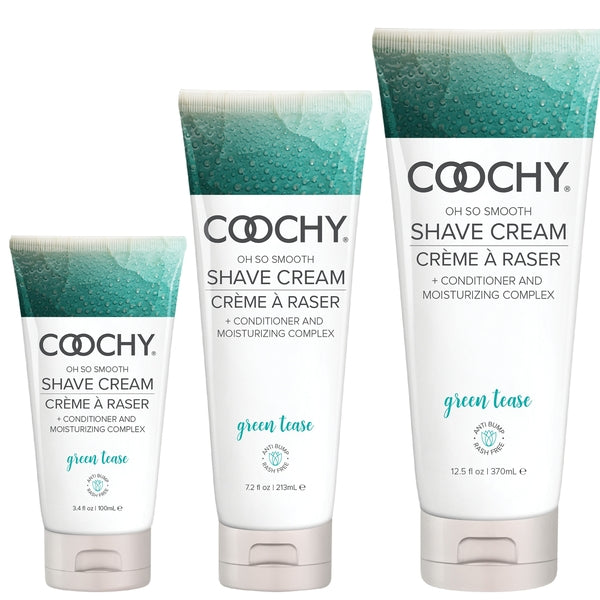 COOCHY Oh So Smooth Shave Cream: Green Tease - Love on This
