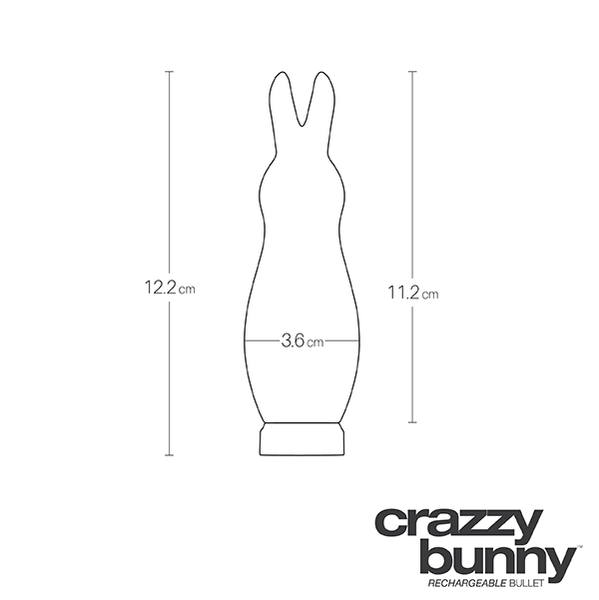 VeDO- Crazzy Bunny Rechargeable Bullet - Love on This