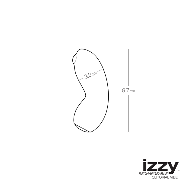 VeDO- Izzy Rechargeable Layon Vibe - Love on This