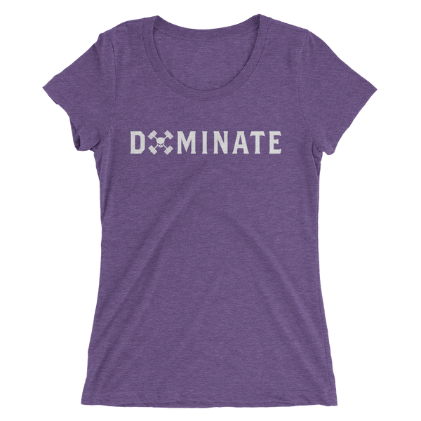 DOMINATE SKULL LADIES TEE