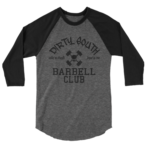 DIRTY SOUTH BARBELL RAGLAN