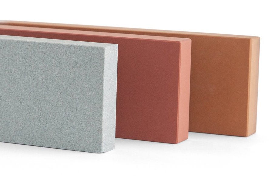 Sharpening stone: Misen's set of three sharpening stones