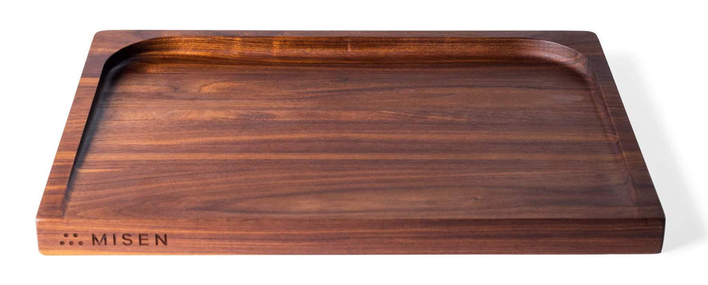 How to clean a wooden cutting board: the Misen Trenched Cutting Board in Black Walnut