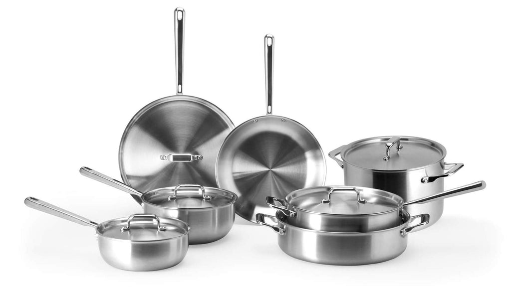 How to cook with stainless steel: the Misen complete stainless steel cookware set