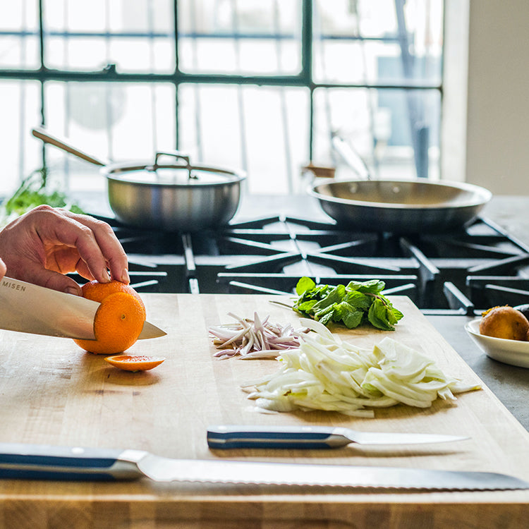 Misen kitchen tools were designed for every day use, some for a lifetime.