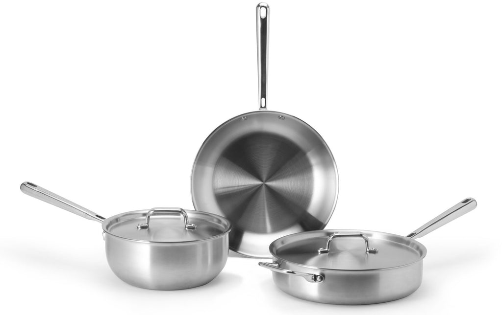 Stainless steel pots and pans: some of the best cookware for glass top stoves