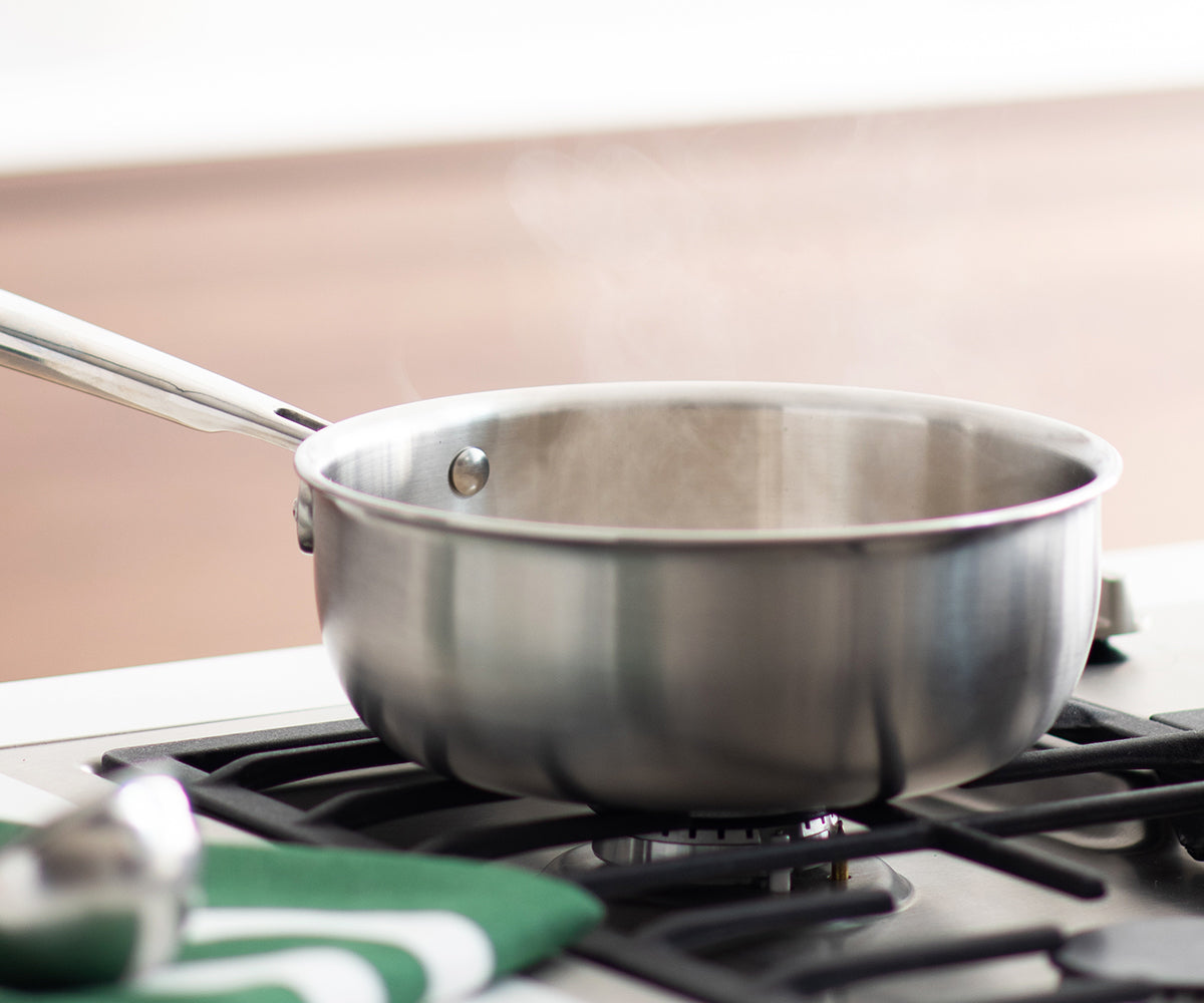The Misen Saucier actually makes you a better chef thanks to some thoughtful design tweaks from your typical pot.