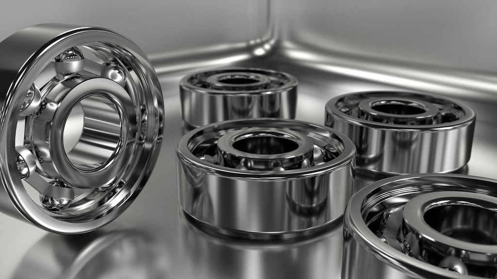 Rockwell hardness scale: metal ball bearings