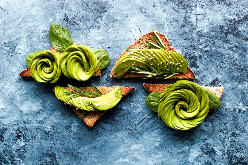 How to cut an avocado: avocado roses on toast