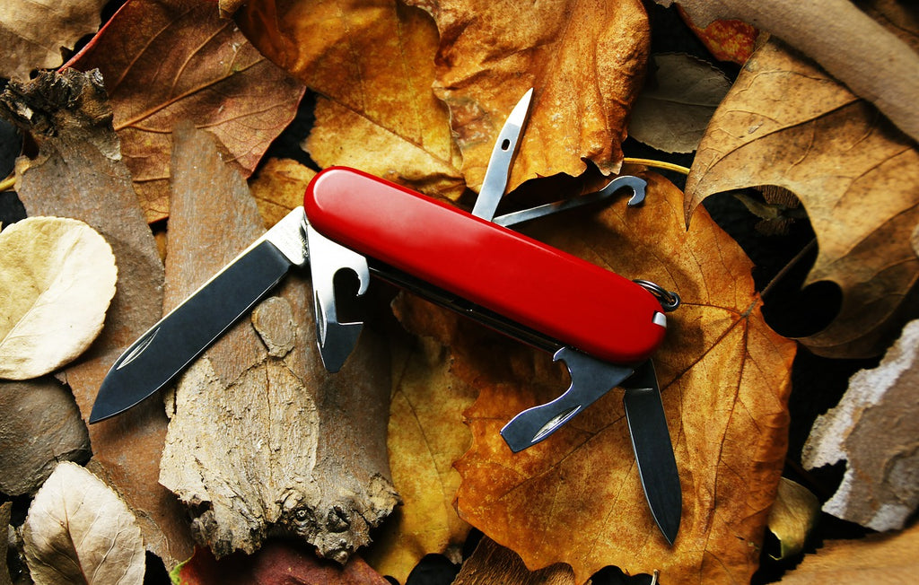 Best steel for knives: a Swiss Army knife